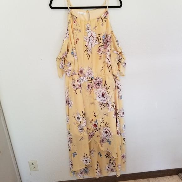 Maurices Dresses & Skirts - Floral Hi Low Dress